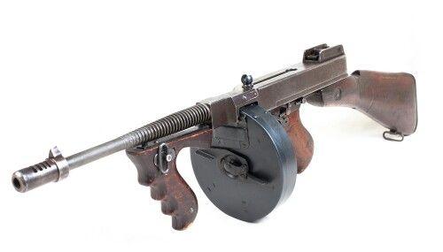 Thompson Tommy Gun M1928A1 | Guns Manuals