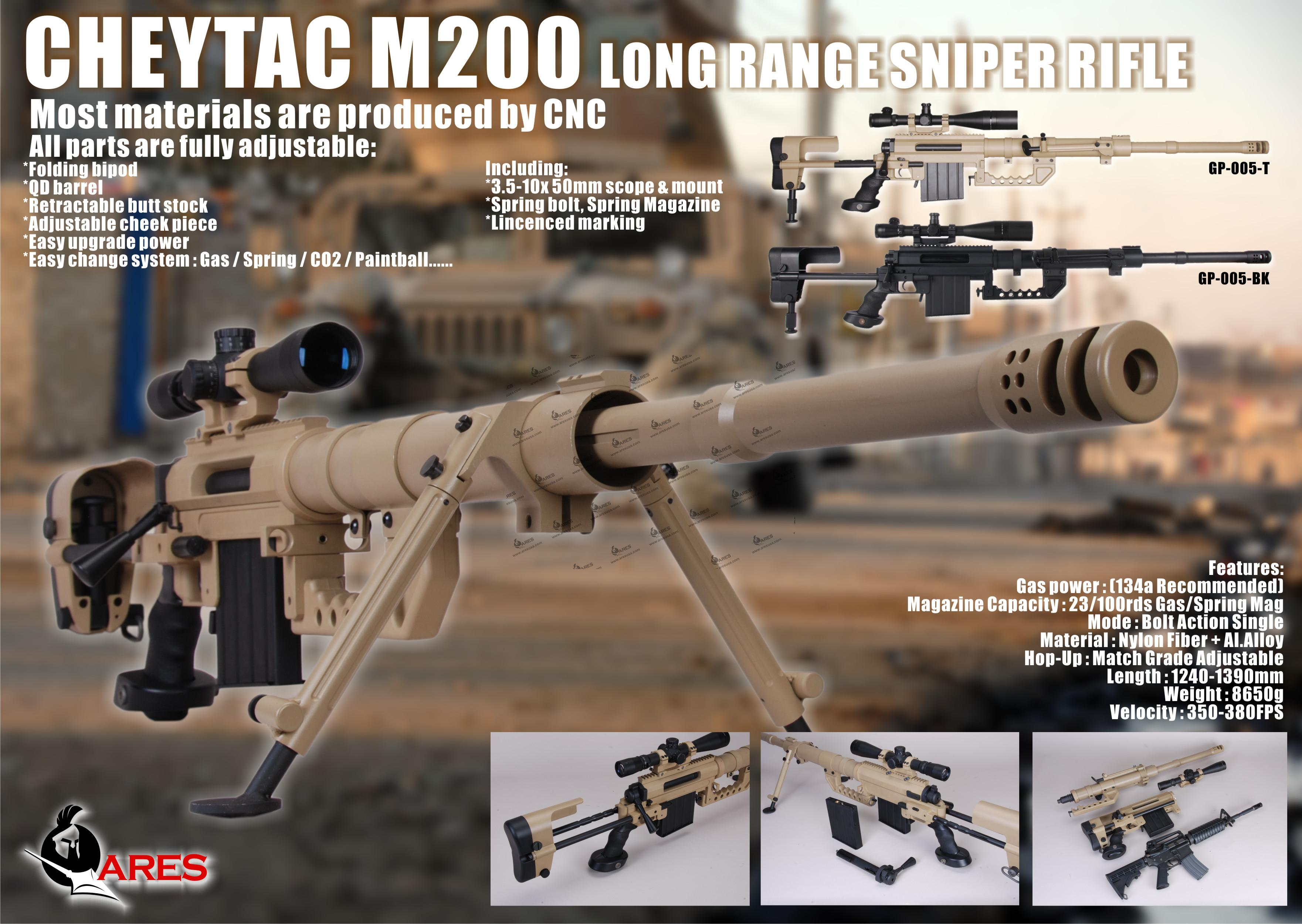 CheyTac Intervention M-200 | Guns Manuals