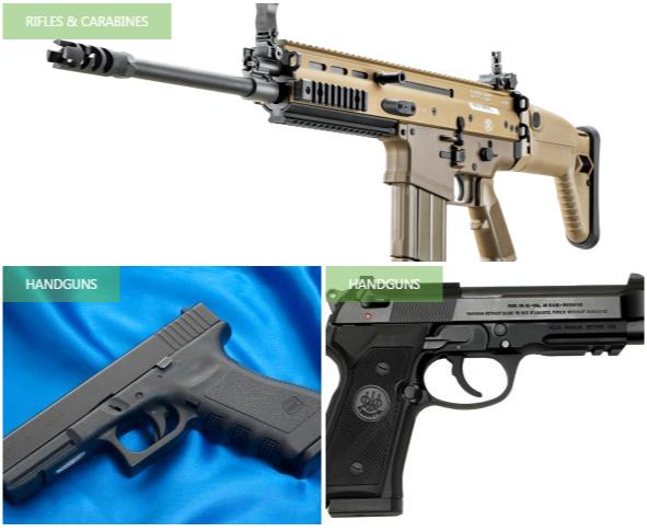 Guns Manuals